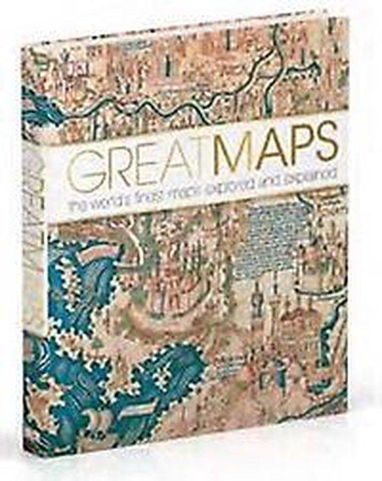 Boek cover Great Maps van Jerry Brotton (Hardcover)