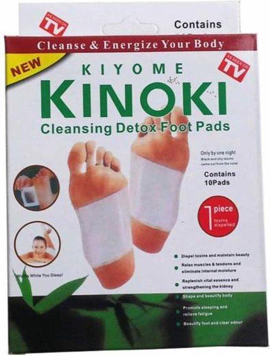 10 x Detox pleisters pads | detox foot pads | Afslankpleisters voetpleisters | Afslanken , ontgiften en reiniging  voor het lichaam