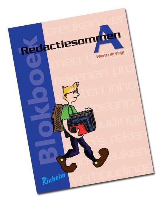 Blokboek Redactiesommen A - Vlugt, W. De  