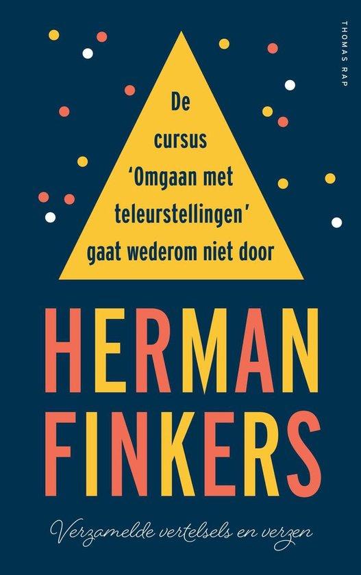 Boek cover De cursus omgaan met teleurstellingen gaat wederom niet door van Herman Finkers (Onbekend)