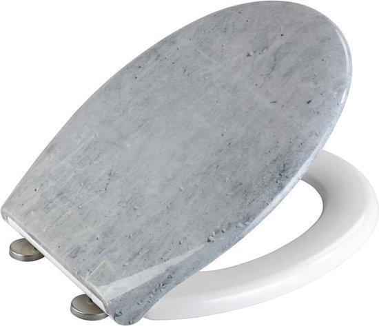 Wenko Toiletbril Concrete