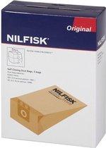 Nilfisk Family/Business - papieren stofzuigerzakken - 4 stuks