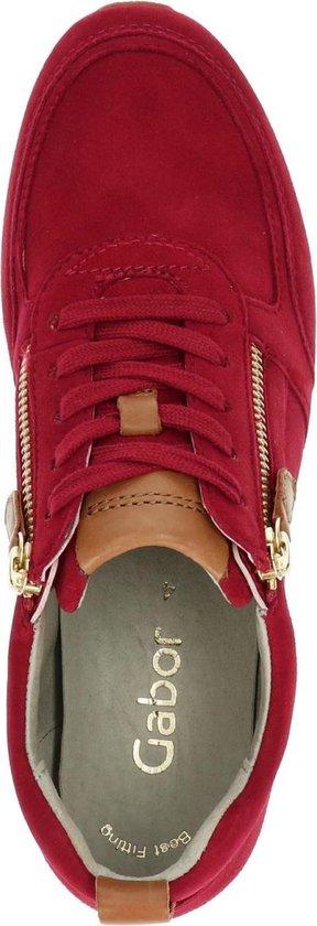 Gabor Dames Sneaker - Rood Maat 43 SfLaYC
