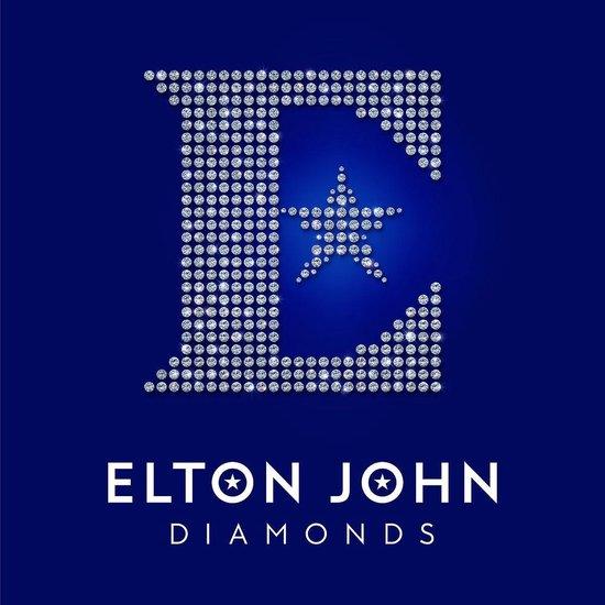 CD cover van Diamonds van Elton John