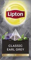 Lipton - Exclusive selection thee earl grey - 25 Pyramide zakjes