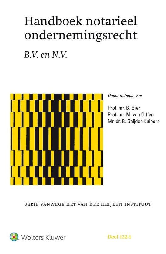 Handboek Notarieel Ondernemingsrecht - none |