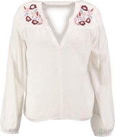 Vero moda viscose snow white blouse met borduringen - Maat  M