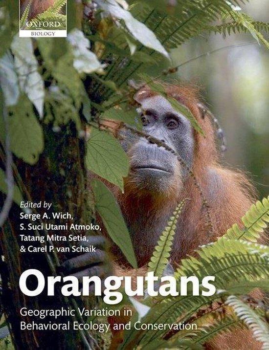 Boek cover Orangutans van Wich Et Al (Paperback)