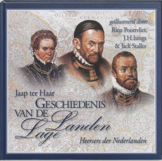 Boek cover Geschiedenis van de Lage Landen 2 Heersers der Nederlanden van Jaap ter Haar (Hardcover)