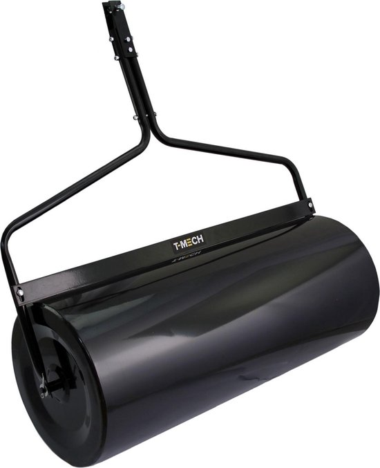 T-Mech Tuin Wals 120 liter capiciteit - Koppel achter kleine voertuigen, Zwaar staal 105 cm breed