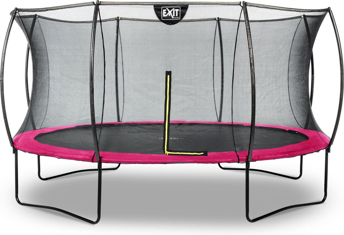 Trampoline EXIT Silhouette - ø427cm - roze