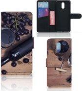 Nokia 2.3 Book Cover Wijn