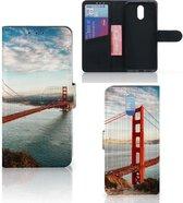 Nokia 2.3 Flip Cover Golden Gate Bridge