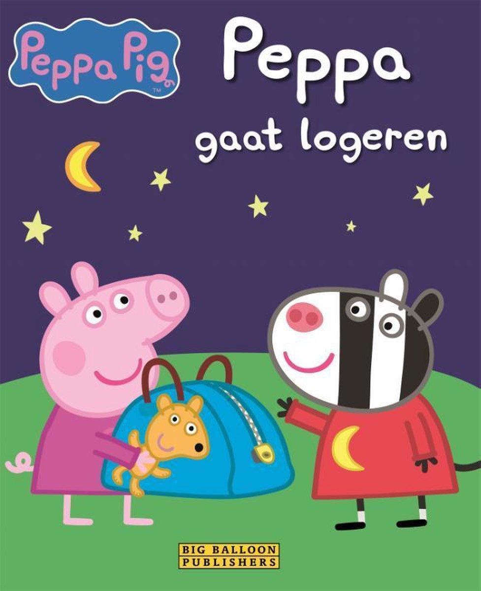 Big Balloon Peppa Pig gaat logeren. 3+ - Neville Astley
