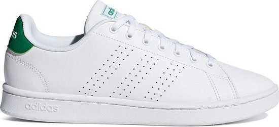 bol.com | adidas Advantage Heren Sneakers - Ftwr White/Green ...