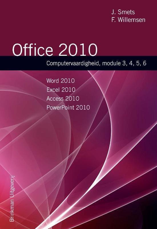 Office 2010 - J. Smets |
