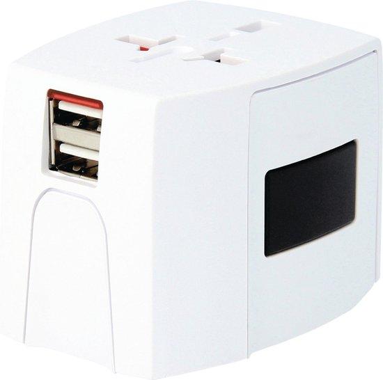 Skross Reisstekker  World Travel Adapter MUV USB