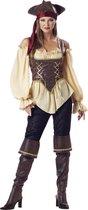 Piraten kostuum voor dames - Premium - Verkleedkleding - Medium