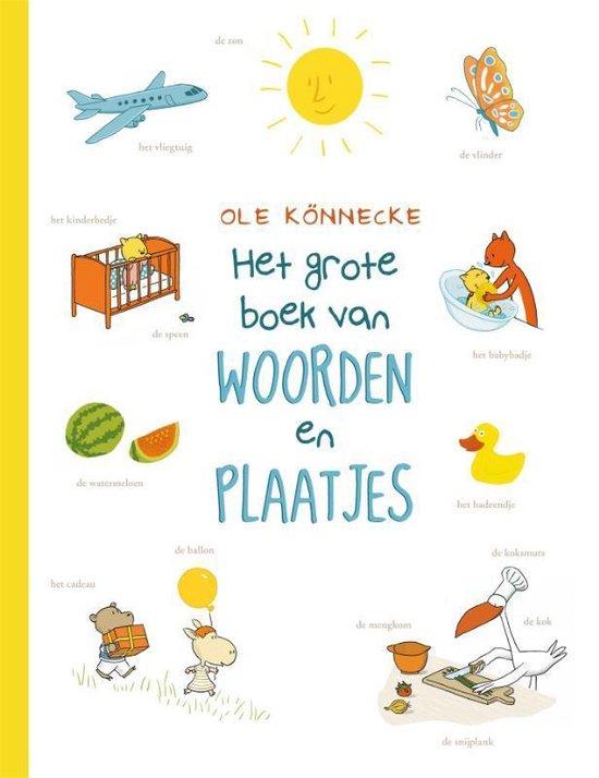 Het grote boek van woorden en plaatjes - Könnecke, Ole   Readingchampions.org.uk