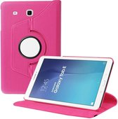 Samsung Galaxy Tab E 9.6 inch SM - T560 / T561 Tablet Case met 360° draaistand cover hoesje - Pink