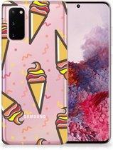 Samsung Galaxy S20 Siliconen Case Icecream