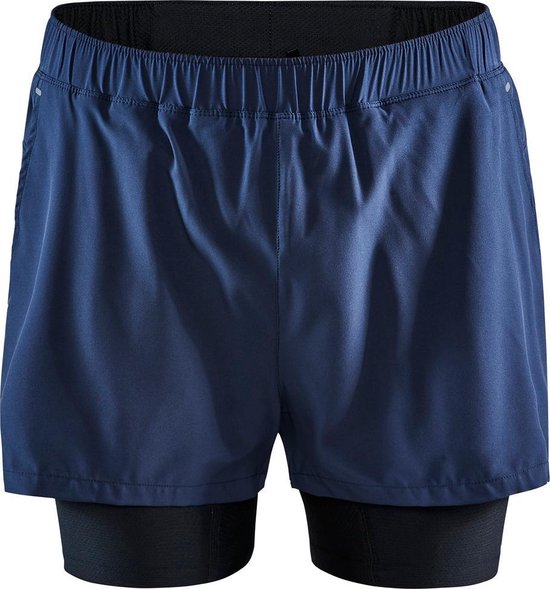 Craft Adv Essence 2-In-1 Shorts M Sportbroek Heren - Blaze