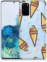 Samsung Galaxy S20 Plus Siliconen Case Icecream