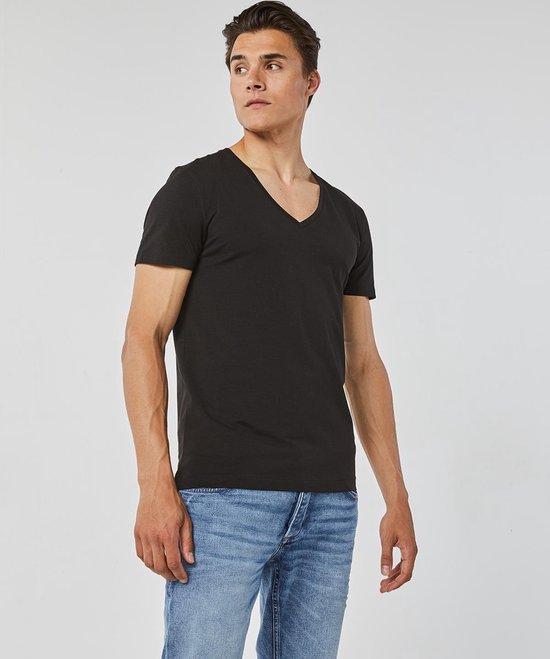 HEREN DEEP ROUND NECK T SHIRT   78835085 WE Fashion