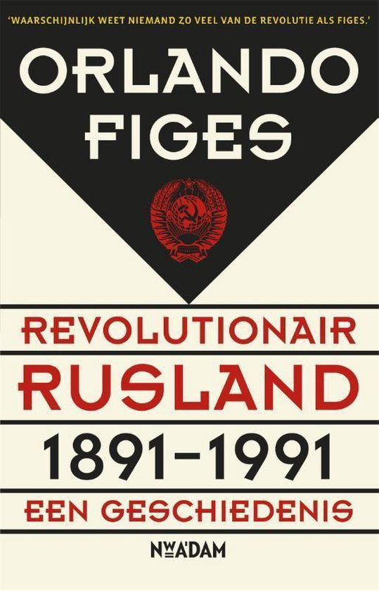 Boek cover Revolutionair Rusland, 1891-1991 van Orlando Figes (Paperback)