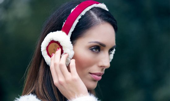 Avanca Bluetooth Audio Oorwarmers fuchsia dames