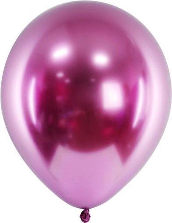 Ballonnen CHROME Rose gold 50 stuks