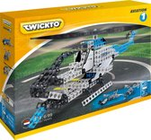 Twickto constructiespeelgoed - bouwset - helokopter en vliegtuig - 319 delig - Aviation #1