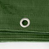 Afdekzeilen / dekkleden 100 g/m² - 6,00 m x 10,00 m - groen