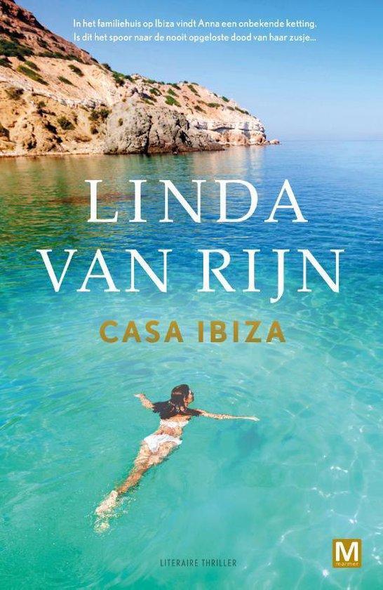 Boek cover Casa Ibiza van Linda van Rijn (Paperback)