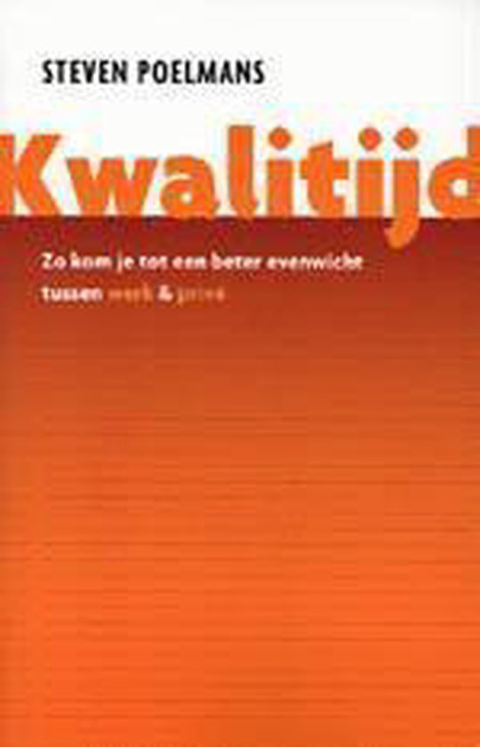 Kwalitijd - Steven Poelmans pdf epub