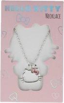 Hello Kitty Ketting Hoofdje Roze