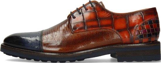Melvin & Hamilton Heren Derby schoenen Eddy 11