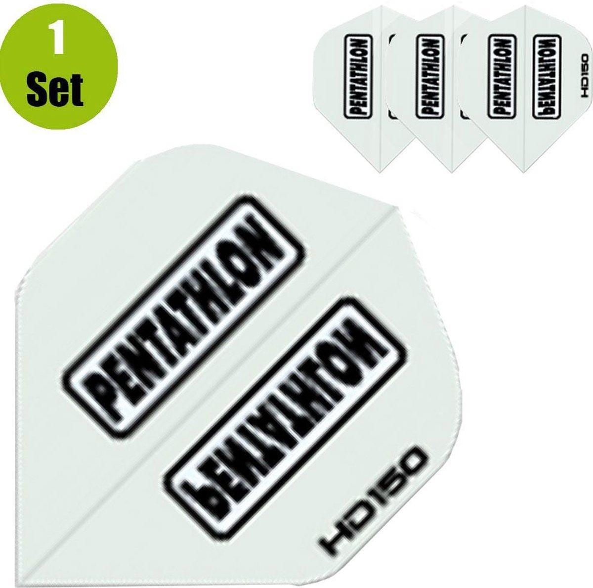 Pentathlon HD150 Dartflights - Zilver- ()