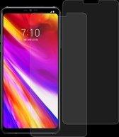 Let op type!! 2 stk 0 26 mm 9H 2.5D getemperd glas Film voor LG G7 ThinQ