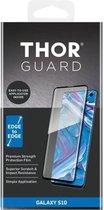THOR Full Screenprotector + Apply Frame voor Samsung Galaxy S10 - Zwart