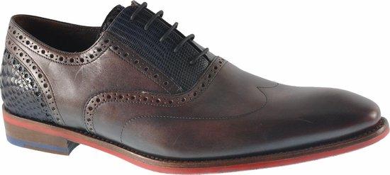 Floris Van Bommel Heren Nette schoenen 19062 - Bruin - Maat 41