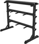 Gorilla Sports Standaard Voor Halterschijven En Stangen - Staal- zwart
