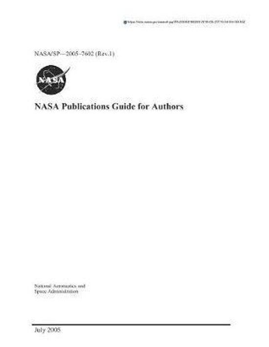 NASA Publications Guide for Authors. Revised