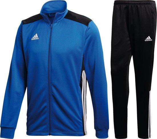 bol.com | adidas Trainingspak - Maat L - Mannen - blauw/zwart
