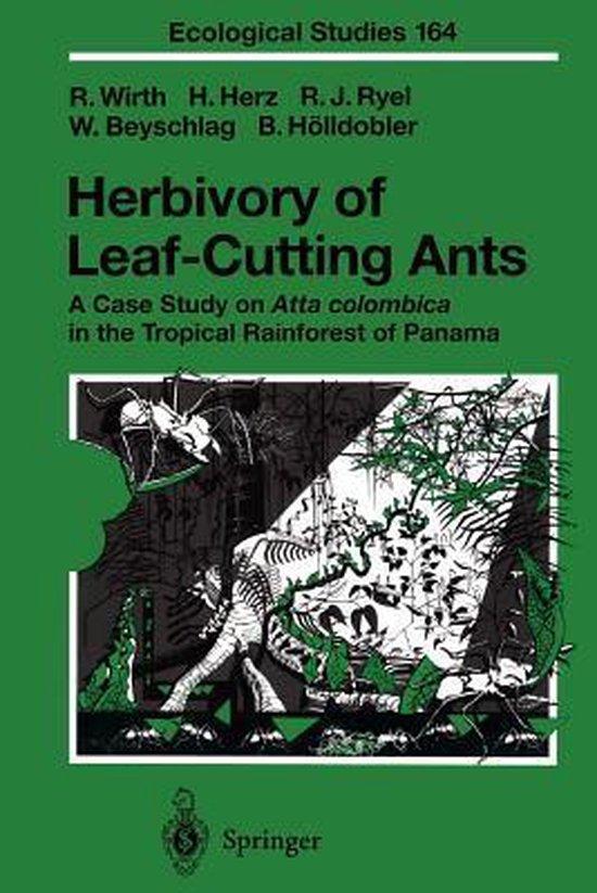 Boek cover Herbivory of Leaf-Cutting Ants van Rainer Wirth (Paperback)