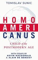 Boek cover Homo Americanus van Tomislav Sunic