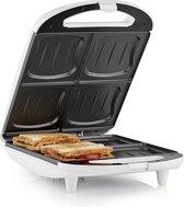 Tristar SA-3065 XL sandwich maker - 4 Tosti's - Wit