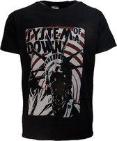 System Of A Down SOAD Liberty Bandit T-Shirt Zwart