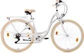 Ks Cycling Fiets Damesfiets Stadsfiets 6-versnellingen Balloon 28 inch wit - 48 cm