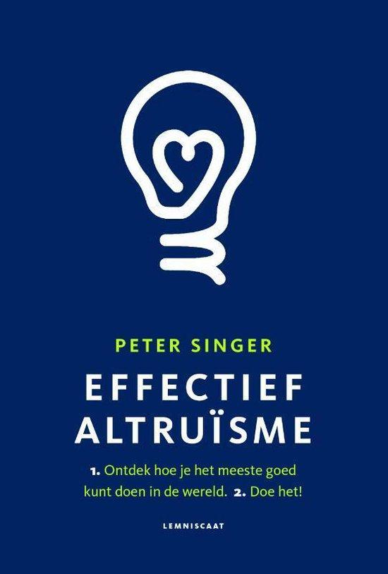 Boek cover Effectief Altruïsme van Peter Singer (Paperback)